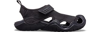 Black Men's Swiftwater Sandal