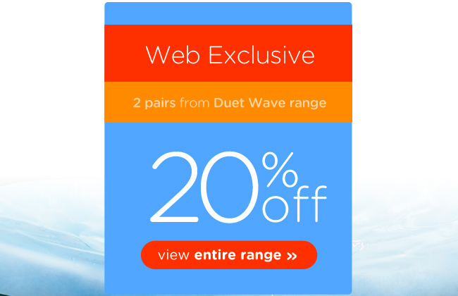 Save 20% off on new duet wave range at CrocsAustralia.com.au